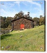 Jack London Stallion Barn 5d22100 Acrylic Print by Wingsdomain Art and Photography
