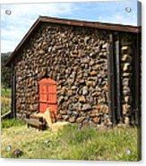 Jack London Stallion Barn 5d22104 Acrylic Print by Wingsdomain Art and Photography
