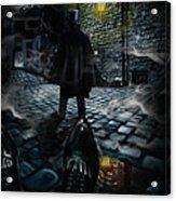 Jack The Ripper Acrylic Print by Alessandro Della Pietra