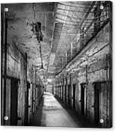 Jail - Eastern State Penitentiary - The Forgotten Ones  Acrylic Print by Mike Savad