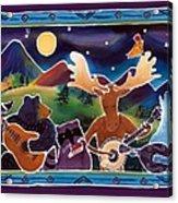 Jamboree Acrylic Print by Harriet Peck Taylor