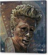 James Dean Acrylic Print by Bedros Awak