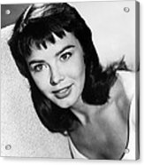Janet Munro Acrylic Print by Silver Screen