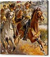 Jeb Stuart Civil War Acrylic Print by Henry Alexander Ogden