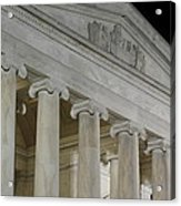 Jefferson Memorial - Washington Dc - 01131 Acrylic Print by DC Photographer