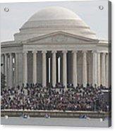 Jefferson Memorial - Washington Dc - 01134 Acrylic Print by DC Photographer