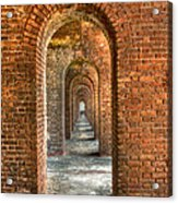 Jefferson's Arches Acrylic Print by Marco Crupi