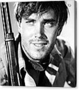 Jeffrey Hunter In The Searchers Acrylic Print by Silver Screen