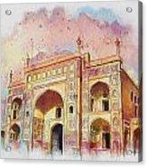 Jehangir Form Acrylic Print by Catf