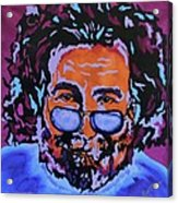 Jerry Garcia-it's A Me Thing Acrylic Print by Bill Manson