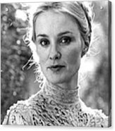 Jessica Lange In Frances  Acrylic Print by Silver Screen