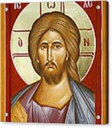 Jesus Christ Acrylic Print by Julia Bridget Hayes