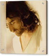 Jesus Praying Acrylic Print by Ray Downing