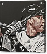 Jeter  Acrylic Print by Don Medina