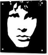 Jim Morrison  Acrylic Print by Yael Rosen