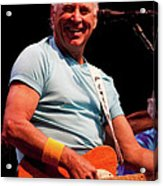Jimmy Buffett 5626 Acrylic Print by Timothy Bischoff