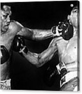 Joe Frazier Vs. Muhammad Ali Acrylic Print by Everett