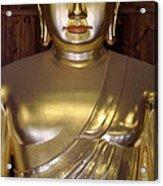 Jogyesa Buddha Acrylic Print by Jean Hall