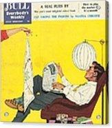 John Bull 1950s Uk Dish Washing Acrylic Print by The Advertising Archives
