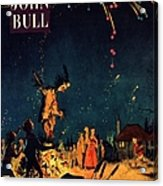 John Bull 1954 1950s  Uk Guy Fawkes Acrylic Print by The Advertising Archives