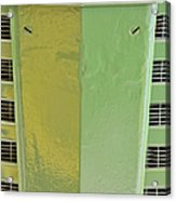 John Deere Grill Acrylic Print by Susan Candelario