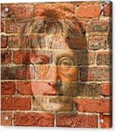 John Lennon 2 Acrylic Print by Andrew Fare