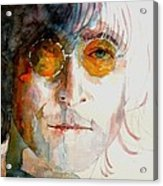 John Winston Lennon Acrylic Print by Paul Lovering
