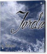 Jordan - Wise In Judgement Acrylic Print by Christopher Gaston