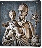 Joseph Of Nazareth Acrylic Print by Lee Dos Santos