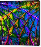 Journey 20130511v1 Square Acrylic Print by Wingsdomain Art and Photography