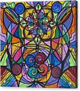 Jovial Optimism Acrylic Print by Teal Eye  Print Store