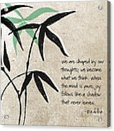 Joy Acrylic Print by Linda Woods