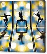 Joy Of Movement Acrylic Print by Bob Orsillo