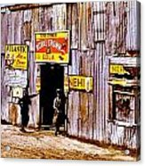 Juke Joint Acrylic Print by Benjamin Yeager