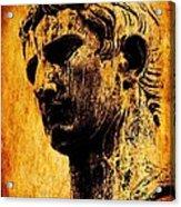 Julius Caesar  Acrylic Print by Mike Grubb