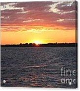 July 4th Sunset Acrylic Print by John Telfer
