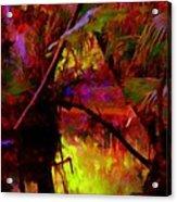 Jungle Fire Acrylic Print by Buzz  Coe