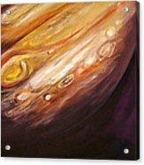 Jupiter Acrylic Print by Sheila Diemert
