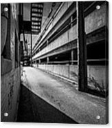 Just Another Side Alley Acrylic Print by Bob Orsillo