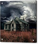 Just Before The Storm Acrylic Print by Aimelle