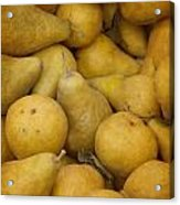 Just Pears Acrylic Print by Rebecca Cozart
