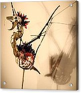 KaF Acrylic Print by Oscar Cabral