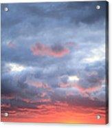 Kansas Sunset Acrylic Print by JC Findley