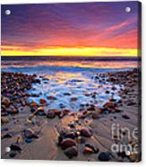 Karrara Sunset Acrylic Print by Bill  Robinson