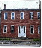 Karrick Parks House - Perryville Ky Acrylic Print by Thia Stover