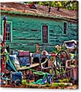 Katrina Memory Acrylic Print by Steve Harrington
