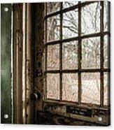 Keep Door Locked Acrylic Print by Gary Heller