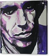Keith Richards Acrylic Print by Chrisann Ellis