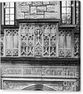 Kenyon College Samuel Mather Hall Acrylic Print by University Icons