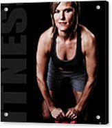 Kettlebell Time Acrylic Print by Jt PhotoDesign